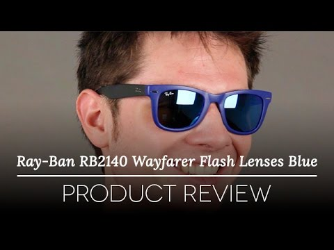 ray-ban-rb4105-folding-wayfarer-flash-lenses-blue-review