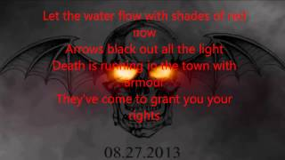 Hail to the King   Avenged Sevenfold Lyric video