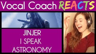 Vocal Coach Reacts to Jinjer performing I Speak Astronomy