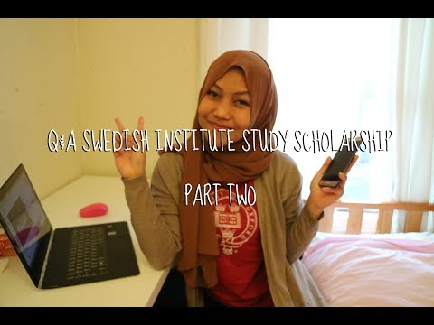 Q&A Part 2 - Swedish Institute Study Scholarship // Study Abroad 012