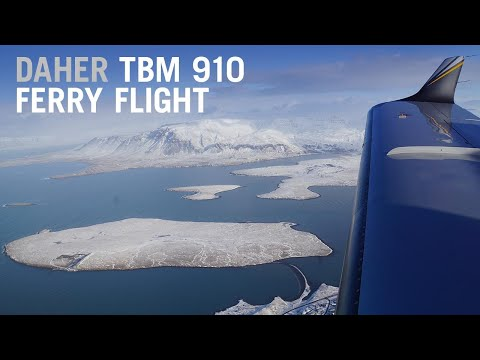 How We Ferried a Daher TBM 910 from France to California – AINtv