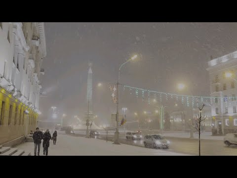 New Year's Day in Minsk (2019)