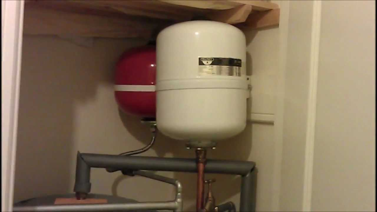 Hot Water Heater Problems >> Noisy Replacement Expansion Vessel - After Plumber's 5th Visit - YouTube