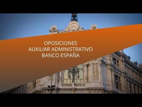 oposiciones-auxiliar-administrativo-banco-de-españa-|-masterd
