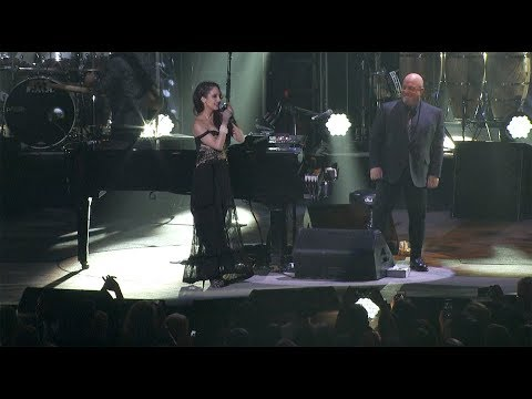"STEVE - Alexa Ray Joins Daddy Billy Joel For A Duet Of""New York State of Mind."""
