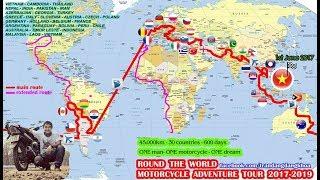 Anh chàng Đăng Khoa xin visa thế nào để đi vòng quanh thế giới bằng chiếc xe Wave cũ từ Tiền Giang?