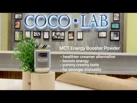 COCOLAB MCT Energy Booster Powder - Instant Energy with COCOLAB!