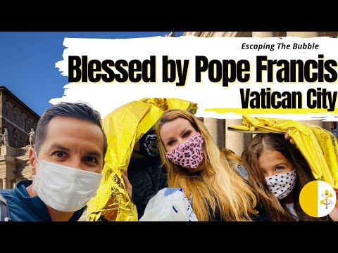 BLESSED BY THE POPE AT VATICAN CITY - Travel Family Vlog