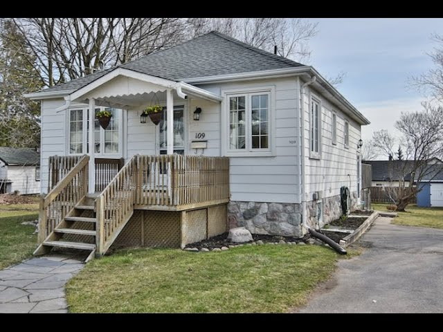 109 Elgin St Clarington Open House Video Tour