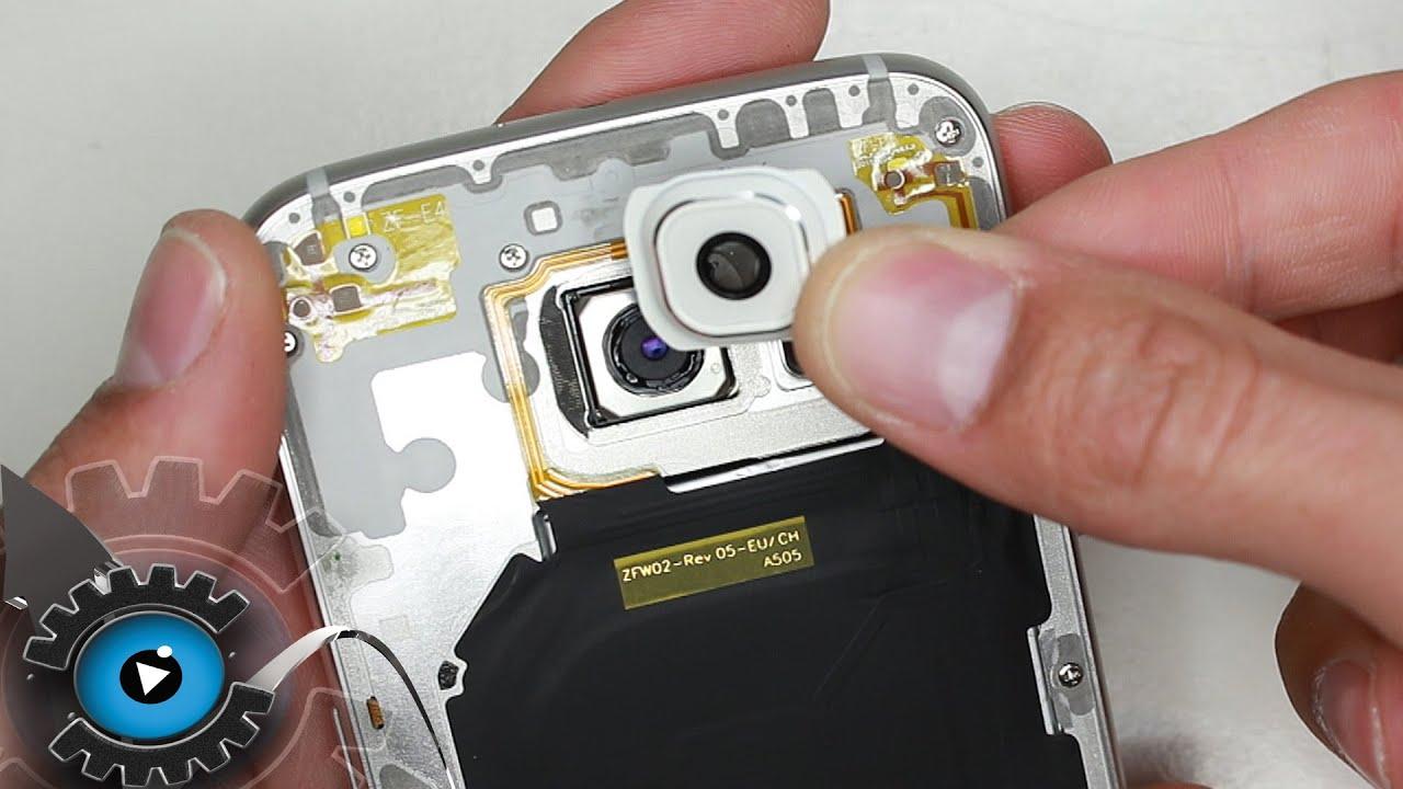 Samsung Galaxy S6 Kameralinse Wechseln Tauschen Reparatur ...