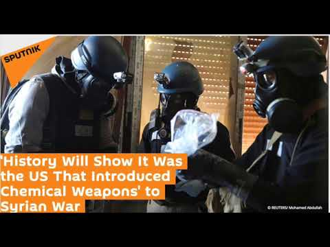 Kevin Barrett on Sputnik: ' US Introduced Chemical Weapons' to Syrian War