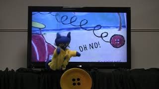 Pete The Cat Puppet Show Groovy Buttons