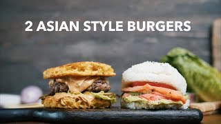 2 asian style burgers [BA Recipes]