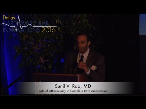 Role of Atherectomy in Complete Revascularization - Dallas CVI 2016