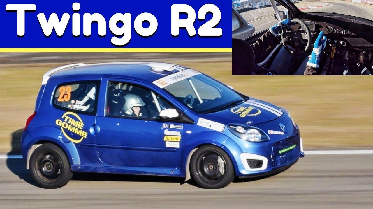 Renault Twingo II R2, Action + On-Board - 160hp of pure Fun! - Varano Rally  Krono 2018