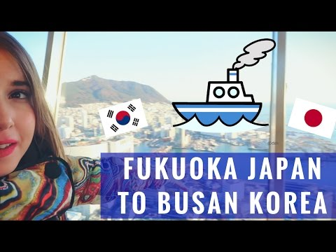 FUKUOKA TO BUSAN | Taking the Ferry from Japan to Korea