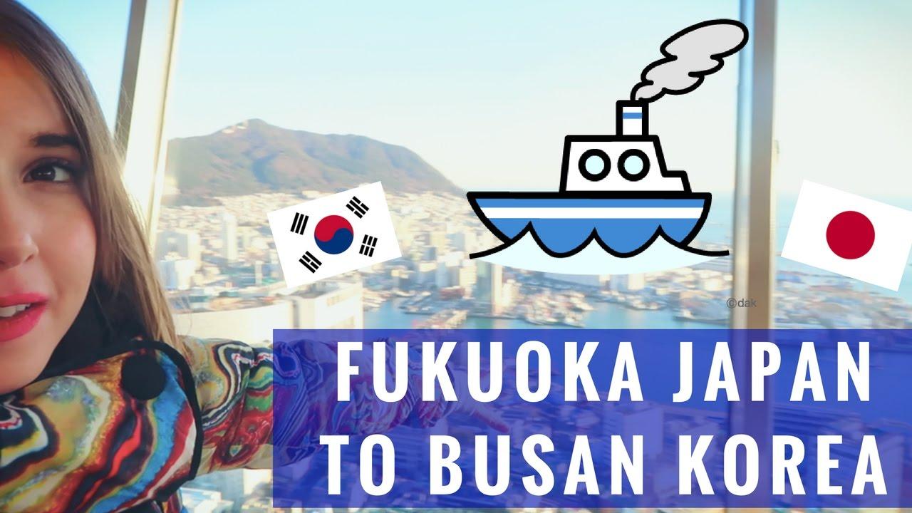 Download FUKUOKA TO BUSAN | Taking the Ferry from Japan to Korea