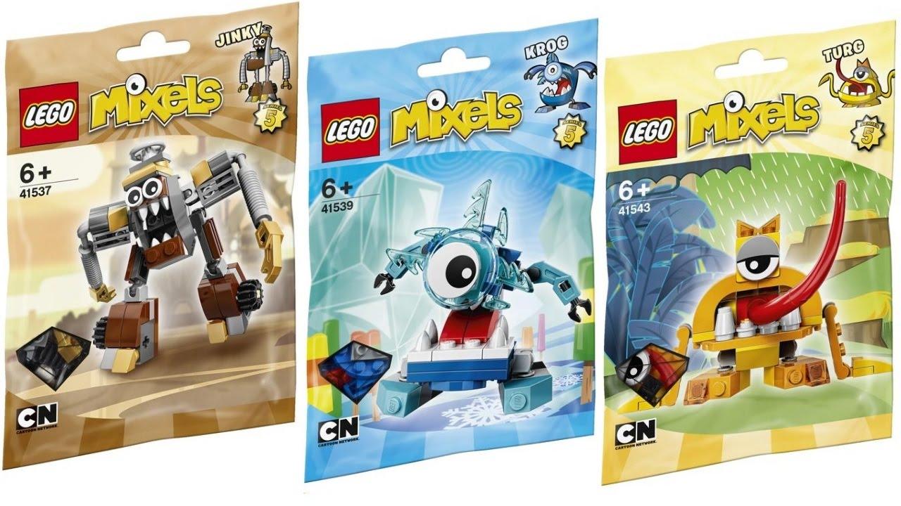 LEGO Mixels Building Toy Set Footi 41521 Series 3  NEW