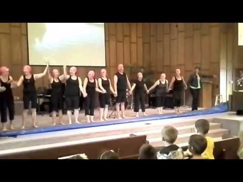 Riviera Christian School Talent Show Synchronized Swimming