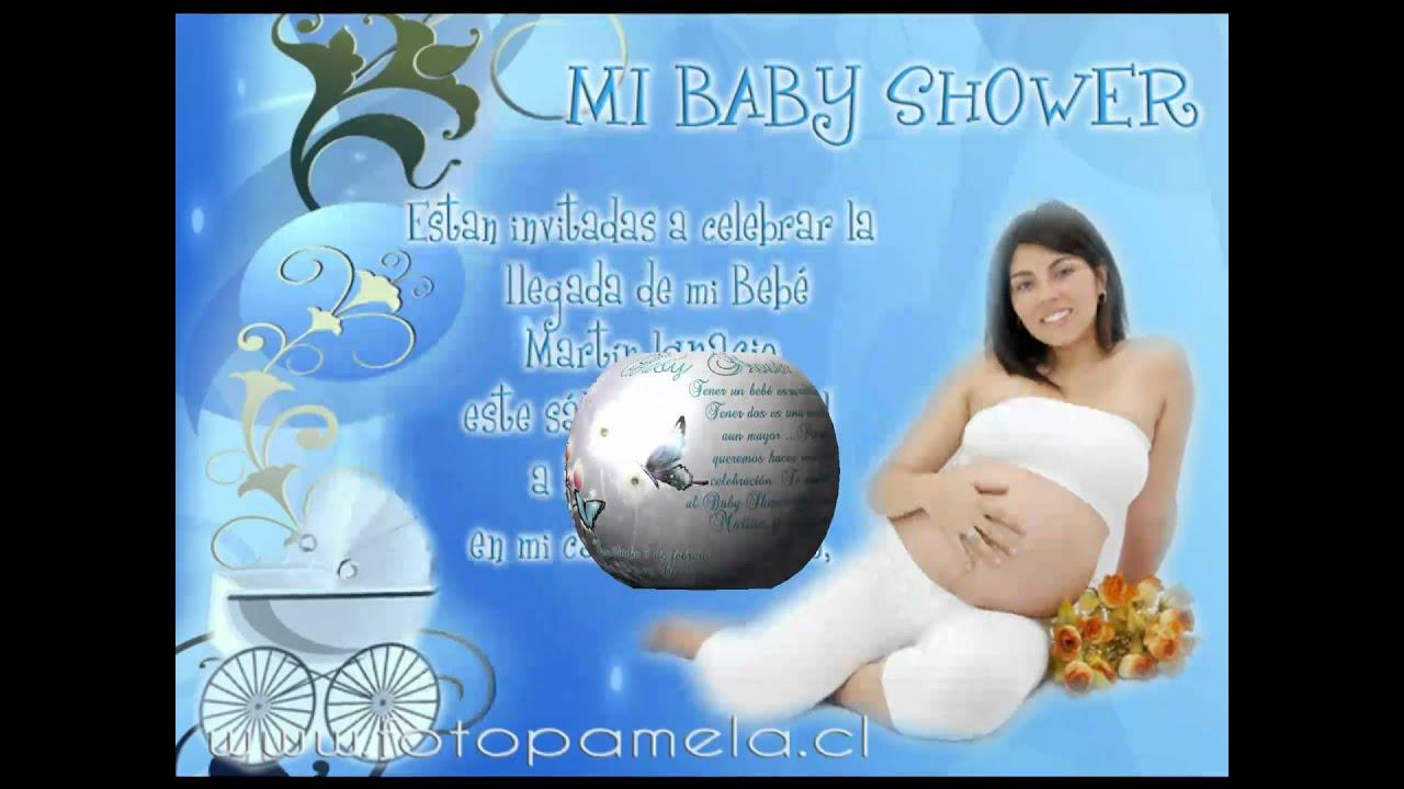 tarjetas de baby shower youtube