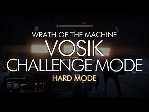 wrath of the machine challenge mode