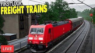 NEW FREIGHT TRAINS & CARGO HAULS | German Train Line | Train Sim World