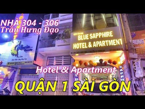 Xem Lại Nhà 304 - 306 Đường Trần Hưng Đạo Quận 1 Sài Gòn (Khách Sạn, Phòng Cho Thuê)