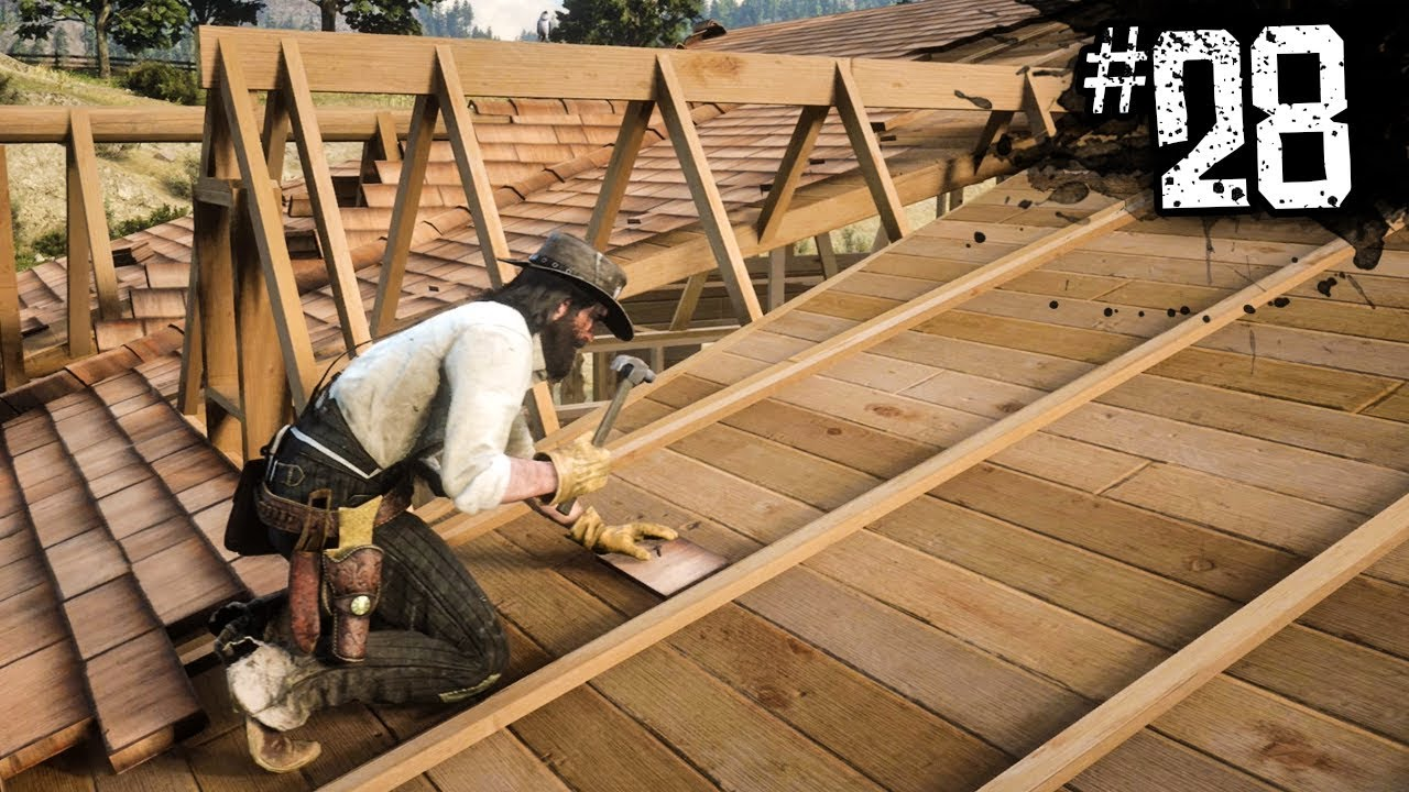 Red Dead Redemption 2 Building A New House Part 28