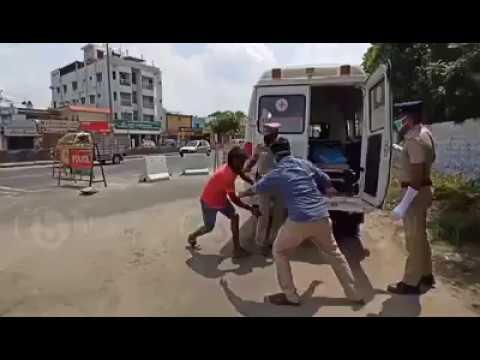 Funny Corona Police Video Chennai India | Crazy- Indian Cops Whatsapp Viral video