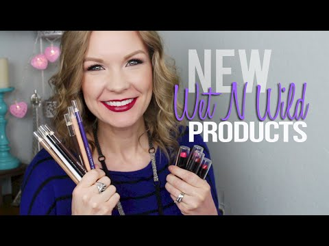 New Wet N Wild Products: Lipsticks & Eyeliners! Swatches & Review!