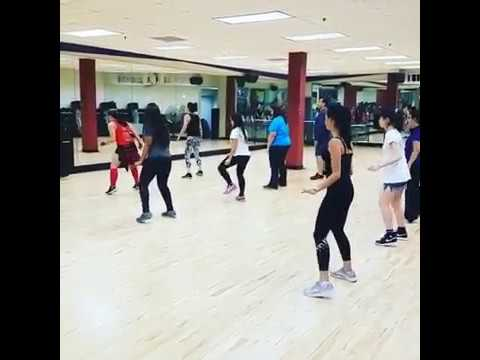 U-Jam Fitness Class for Connect English Students