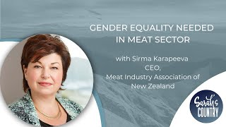 """Gender equality needed in meat sector"" with Sirma Karapeeva"