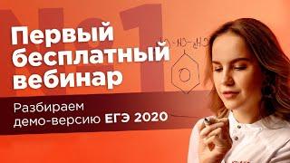 РАЗБОР ДЕМО ВЕРСИИ 2020 + ЧЕК-ЛИСТ | ЕГЭ Химия | Лия Менделеева