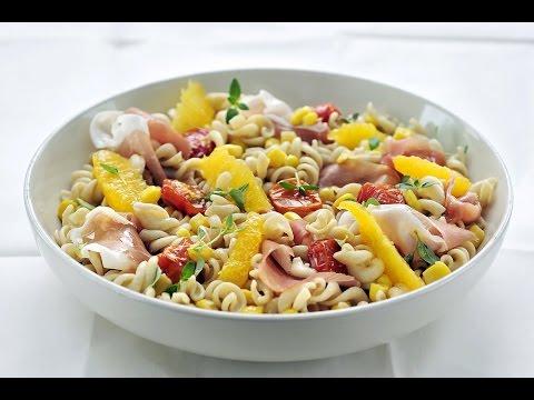 hoe maak ik pastasalade
