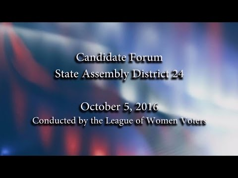 State Assembly 24 Candidates