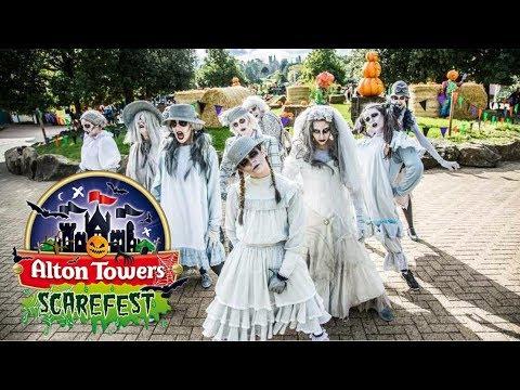 Alton Ancestors Welcome Show Alton Towers Scarefest 2017 HD 60FPS