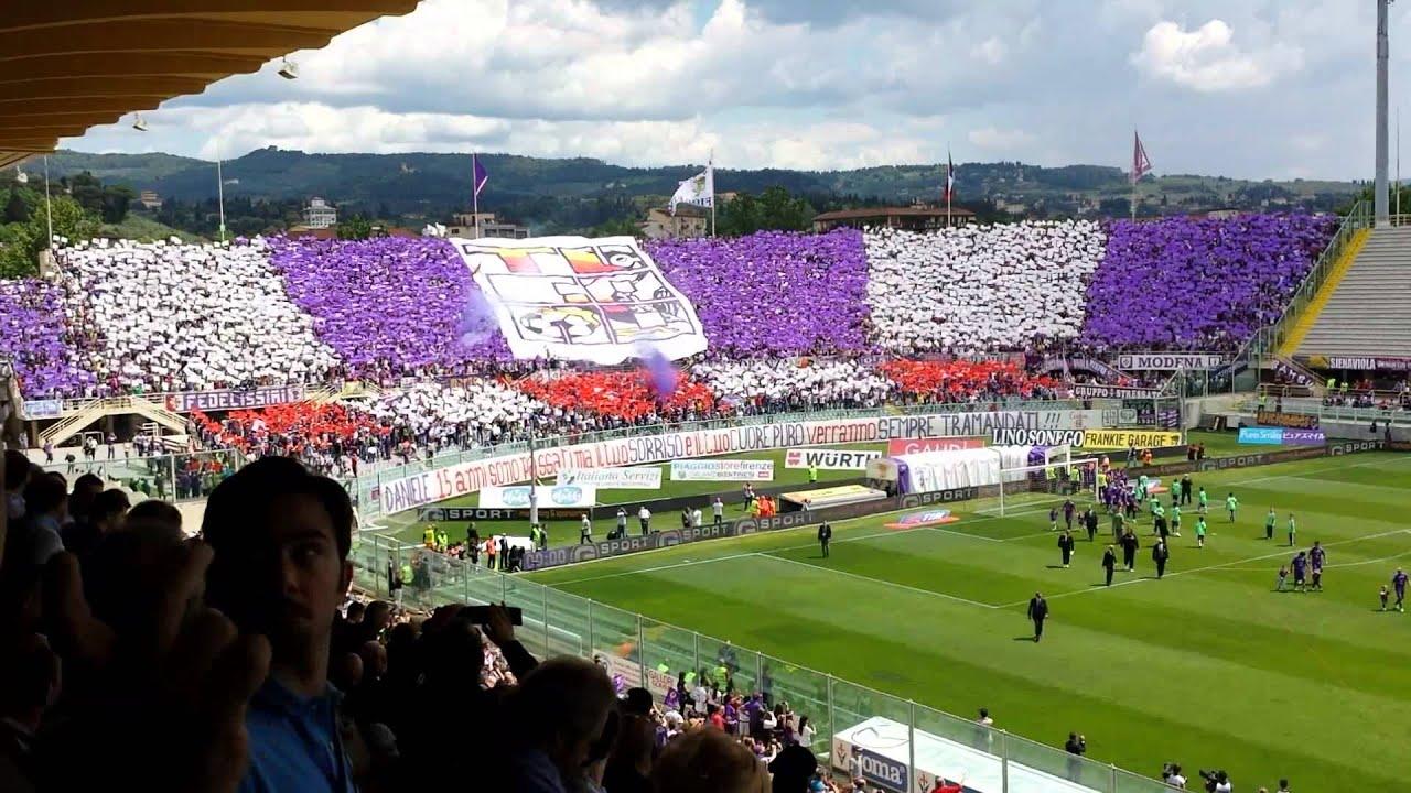 Fiorentina Palermo Coreografia Curva Fiesole 12 05 2013