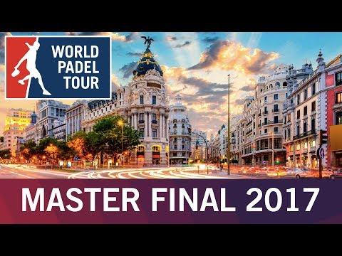 Presentación Oficial Estrella Damm Master Final 2017 | World Padel Tour