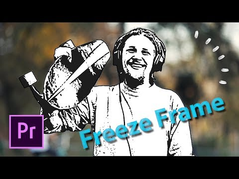 FREEZE IN TIME Characters Freeze Frame Intro Effect Adobe Premiere Pro Tutorial thumbnail