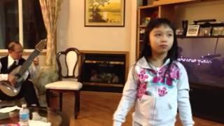 Abby dance to Muc su ngoc hoang guitar