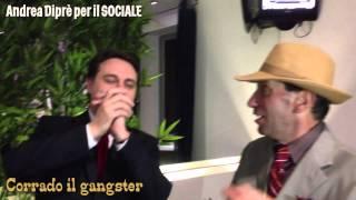 Corrado il Gangster incontrato da Andrea Diprè