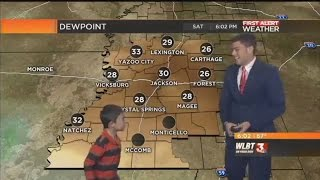 Kid Interrupts Meteorologist's Weather Report To Forecast 'Farts And Toots'