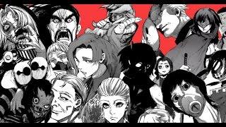Top 10 Strongest Aogiri Members - Tokyo Ghoul :re 東京喰種 2016