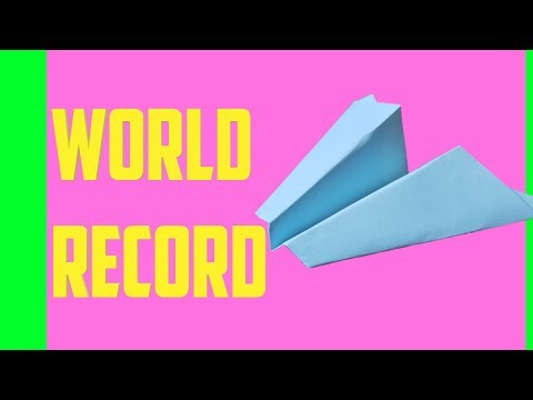 Scotty Perry - Build the Longest Flying Paper Airplane