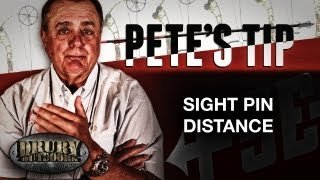 pete s tip sight pin distance