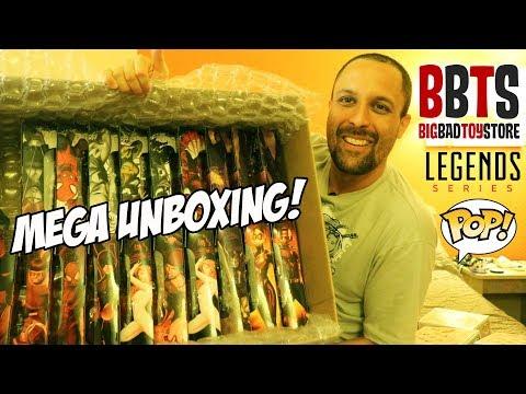 MEGA UNBOXING BBTS: Marvel Legends E Funko POP - Big Bad Toy Store X Toy Hunting?