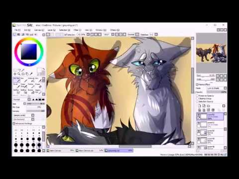 Grey Wing's Death (Warrior Cats Speedpaint)