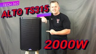 ALTO TS315 REVIEW AND DEMO!