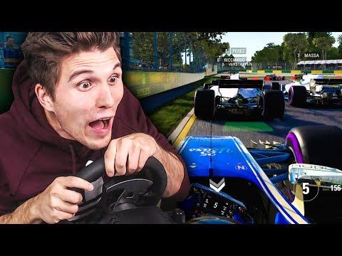 Der Neue Formel 1 SUPERSTAR! ✪ F1 2017 Mit Lenkrad