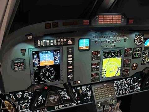 FSX: King Air's ProLine 21 Avionics Suite